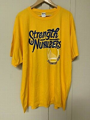 db2ea1eb Strength in Numbers Semi Conf Finals 2016 Men's 3XL Golden State Warriors  NBA