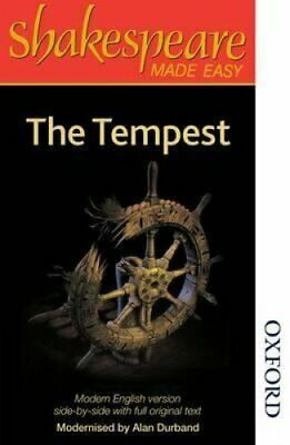 The Tempest by William Shakespeare and Alan Durband (2014, Paperback, New...