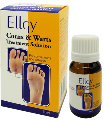 ELLGY SOLUTION 17% Salicylic Acid for treatment of corns and