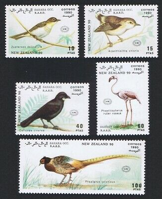 Birds 5v issue 1990 MNH