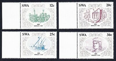 SWA Discoveries 2nd issue 4v with margins MNH SG#455-458 SC#552-555