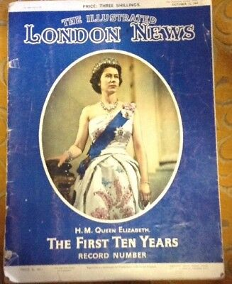 The Illustrated London News, HM Queen Elizabeth The First Ten Years October 1963