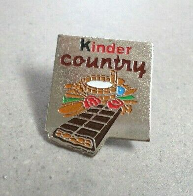 Pin's KINDER Country / chocolat FERRERO
