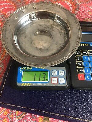 Sterling Silver Nothern Rock Bowl - 113 Grams