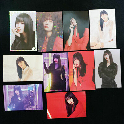 TWICE WORLD TOUR 2019 TWICE LIGHTS Official Photo Card Momo Complete 10 Set