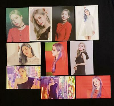TWICE WORLD TOUR 2019 TWICE LIGHTS Official Photo Card Dahyun 10 Set Complete