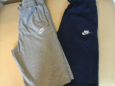 Nike boys shorts age 13-15 Two pairs navy and grey