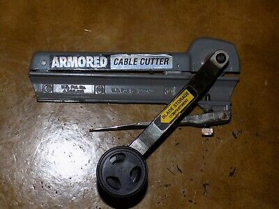 Armored cable cutter Excellent condition  US Patent.