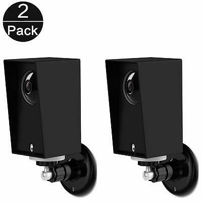 Wyze Cam Pan Wall Mount  (Black(2pack) Outdoor/Indoor