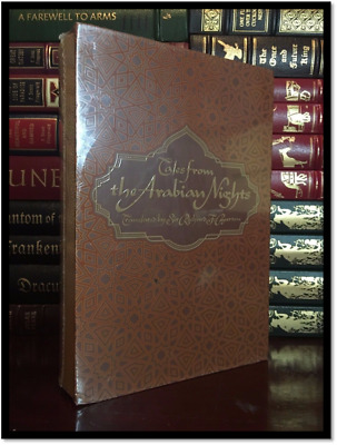 Tales from the Arabian Nights by Richard Burton Cloth Bound Slipcase New Sealed