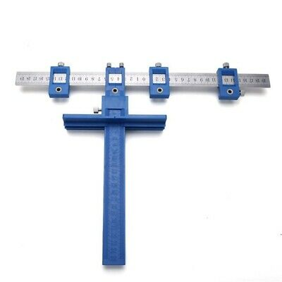 1X(Cabinet Hardware Jig True Position Tool Fastest And Most Accurate Knob & 3D6)