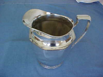 Mid-Century Andover Silver Plate Pitcher 1/2 Gallon Owned By  R. Wallace & Sons