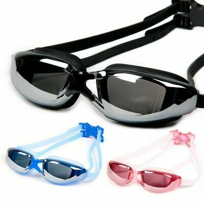 Adult Youth Adjustable Swimming Goggles Mask UV Protect Anti-fog Clear Glasses