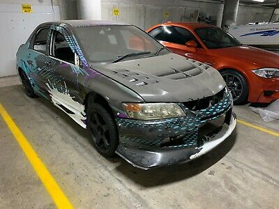 Mitsubishi Evo 8 2007 Race Car Rolling Shell - Track Only
