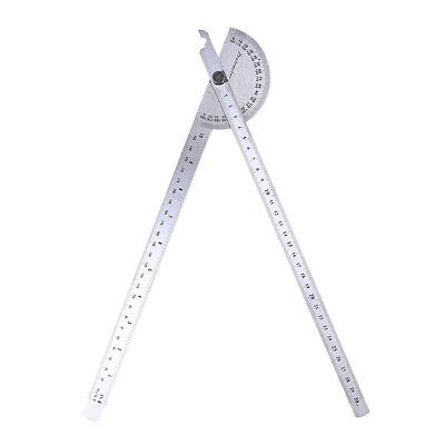 180 Degree Protractor Angle Finder Rotary Woodworking Measuring Ruler W1H1
