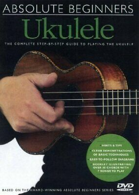Collectif - Absolute Beginners: Ukulele Multilanguage [DVD] - DVD  82VG The