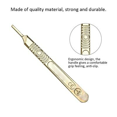 Metal Graver Scalpel Gold/Silver Knife Jewellery Surgical Medical Tool Handpiece