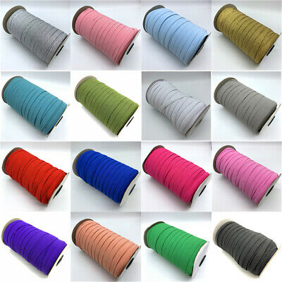 5yards 10mm Sewing Elastic Band Elastic Fiat Rubber Stretch Rope Elastic Ribbon