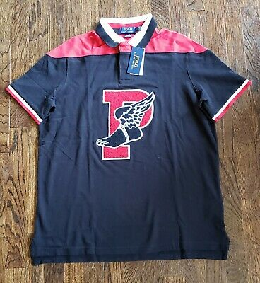 41971ae1f Polo ralph lauren P Wing Patch shirt Mens L NWT Stadium 1992 Limited  classic fit