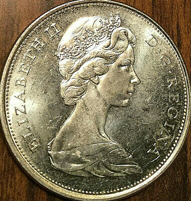 1965 CANADA SILVER 50 CENTS - Uncirculated