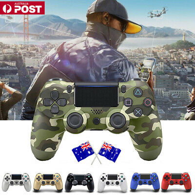 NEW 2018 Playstation 4 Controller Wireless DualShock For Sony PS4 Jet AU SELLER