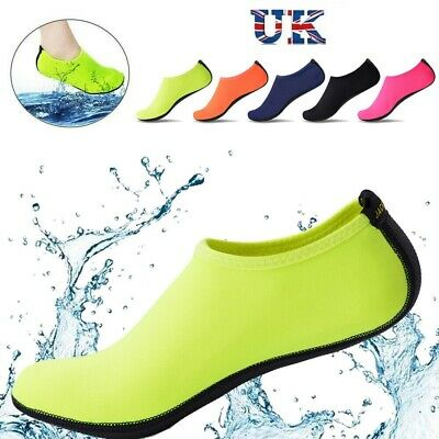 Men Women Water Shoes Aqua Socks Diving Socks Wetsuit Non-slip Swim Beach Sea UK