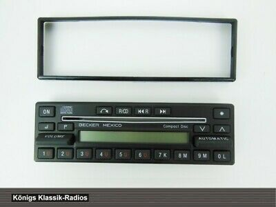 Radio Aufsatz mit Display für Becker Mexico Compact Disc Safety 862