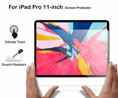 PET Ultra Clear/Tempered Glass Screen Protector For Apple iPad Pro 11-inch 2018
