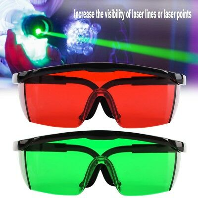 Visibility Enhancement Glasses Green/Red Laser Goggles for Laser Level Machine