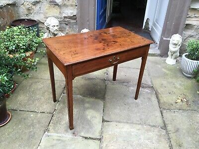 Victorian mahogany side table or writing desk