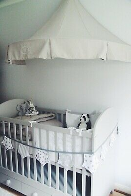 Baby Crib Canopy and Bunting