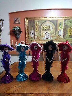 Catrina Mexican Doll Day of the Dead .