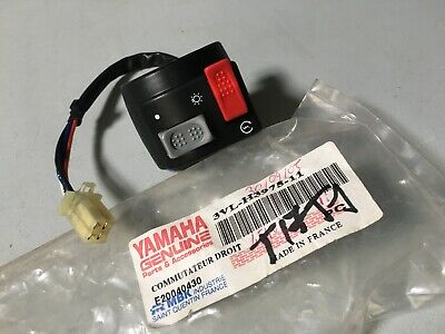 Yamaha 3VL-H3975-11 commodo contacteur droit guidon CW50 CW 50 BW's Booster