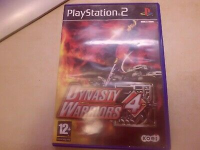 PS2 PLAY STATION 1 DYNASTY WARRIORS 4 español PAL