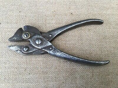 Early USA Bernard Parallel Action Combination Pliers