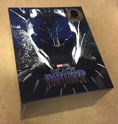 Black Panther - Blufans Exclusive One Click Blu Ray Steelbook - New & Sealed