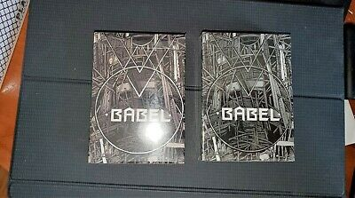 Babel Playing Cards By Card Experiment 2 Deck Set Sealed Uspcc Gold & Black