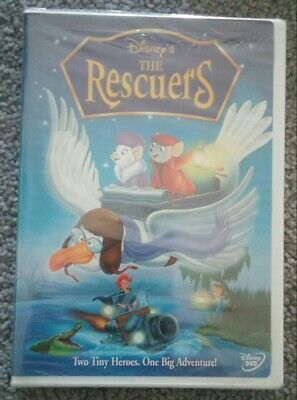 The Rescuers - 2003 Disney DVD - sealed unopened - light wear to front