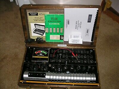 B&K Dynascan  747B Dyna-Jet Solid State Dynamic Mutual Conductance Tube Tester