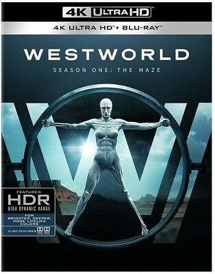 Westworld: The Complete First Season [New 4K UHD Blu-ray]