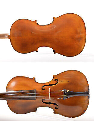 Very Old / Antique Beautiful Handmade 4/4 Master Violin Stainer+Hard Case~Videos