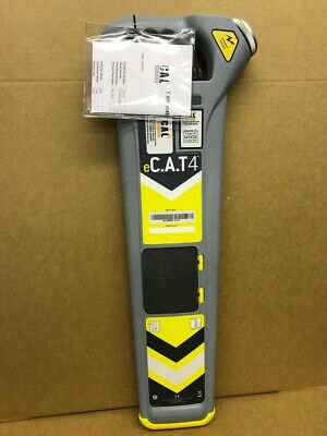 Radiodetection eC.A.T 4 Cable Locator c/w 12 Mth Warranty & Cert