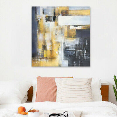 Pure Hand-painted Canvas Pop Abstract Oil Painting Home Decor Wall Art Framed
