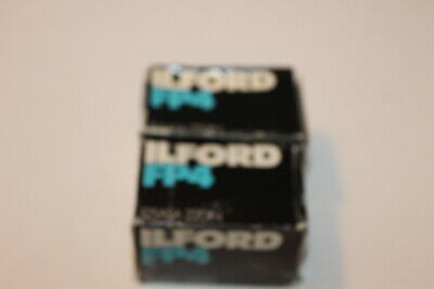 LOT 2 Ilford FP4 135 Black and White Negative Film (35mm Roll Film,20 Ex) B#7