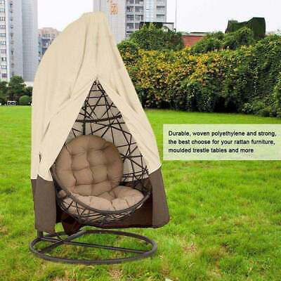 Swing Chair Cover Hanging Hammock Stand Egg Wicker Seat Patio Garden Outdoor AK