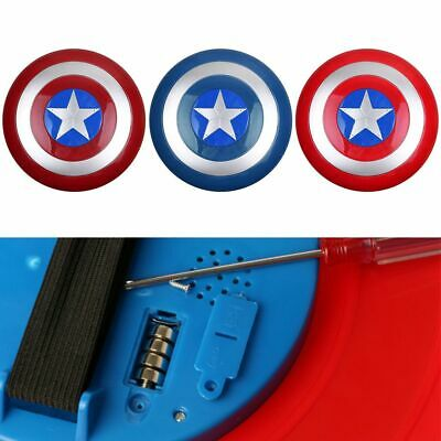 Avengers Captain America Shield with LED light&Collectible Kids Toy Gift Top CA