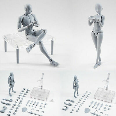 Body Kun Doll Drawing Figure for Artists Action Model Human Mannequin Man Woman