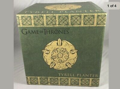 Game of Thrones House Tyrell Ceramic Planter Official HBO