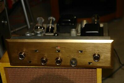H.H. SCOTT TYPE 99 D 6L6 tube Integrated Amplifier ** working **