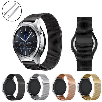 18mm Milanese Metal Loop Watch Band Strap For LG / Huawei / Withings / Fossil